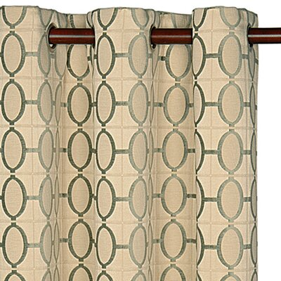 Eastern Accents Brenn Drapery Rod Pocket Curtain Single Panel