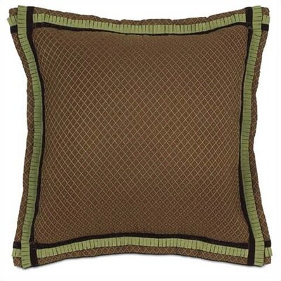 Eastern Accents Amelie Margo Cocoa Euro Sham Bed Pillow