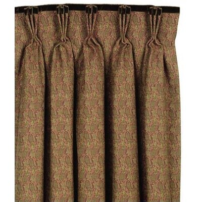 Eastern Accents Amelie Cotton Rod Pocket Curtain Single Panel