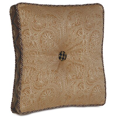 Eastern Accents Aston Polyester Leinster Boxed and Tufted Decorative Pillow