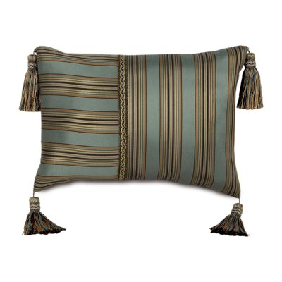 Eastern Accents Chapman Polyester Marmara Sea Decorative Pillow with Tassels