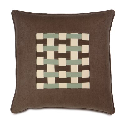 Eastern Accents Cambium Polyester Leon Decorative Pillow with Ribbons