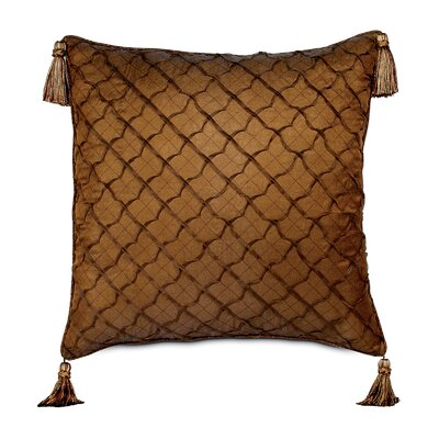 Eastern Accents Gershwin Stella Welt and Tassels Decorative Pillow