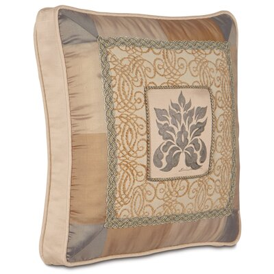 Lancaster Motif Hand Painted Decorative Pillow