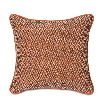 Eastern Accents Tracery Polyester Luca Decorative Pillow with Border