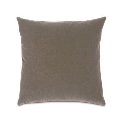 Bach Mohair Polyester Knife Edge Decorative Pillow