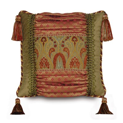 Eastern Accents Botham Polyester Collage Decorative Pillow with Tassels
