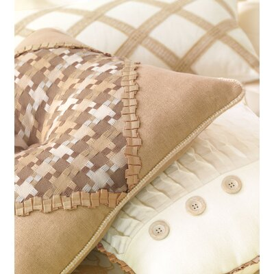 Eastern Accents Churchill Polyester Colt Palomino Tufted Decorative Pillow