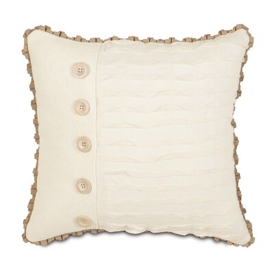 Eastern Accents Churchill Polyester Yearling Decorative Pillow with Buttons