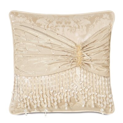 Eastern Accents Charissa Polyester Decorative Pillow with Vivi Frost Scarf