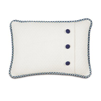 Eastern Accents Ella Polyester Henley Cloud Decorative Pillow with Buttons