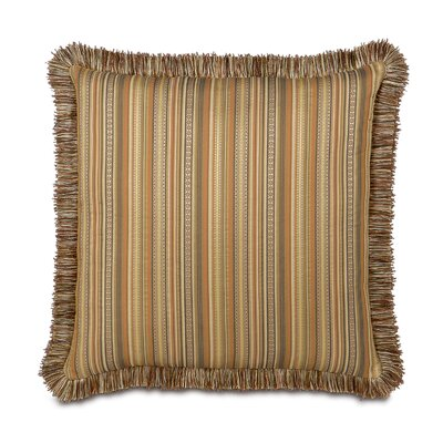 Eastern Accents Kiawah Currituck Shell Brush Fringe Decorative Pillow