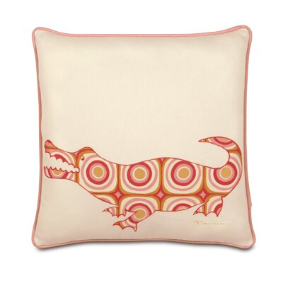 Eastern Accents Pinkerton Eli Polyester Crocodile Decorative Pillow