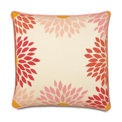 Eastern Accents Pinkerton Eli Polyester Dahlias Decorative Pillow
