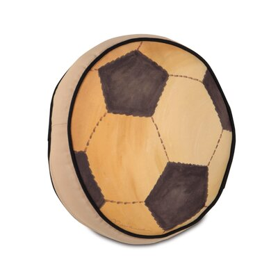 Eastern Accents Pinkerton Eli Polyester Soccerball Decorative Pillow