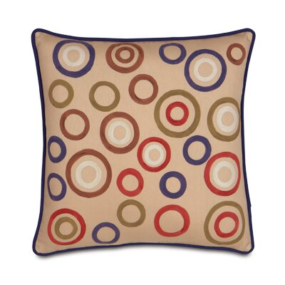 Pinkerton Polyester Eli Circles Decorative Pillow