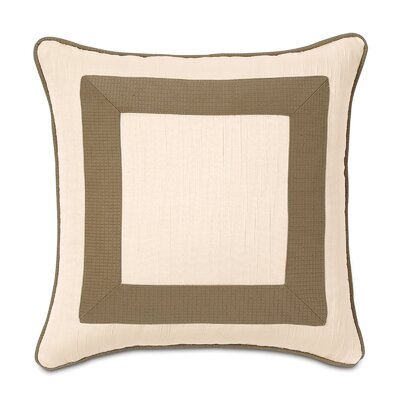 Eastern Accents Tracery Polyester Keats Mitered Decorative Pillow