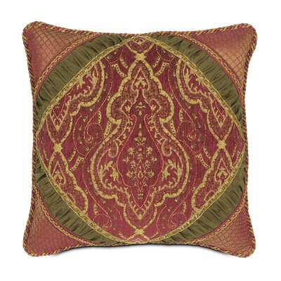 Eastern Accents Vaughan Polyester Diamond Collage Decorative Pillow with Cord