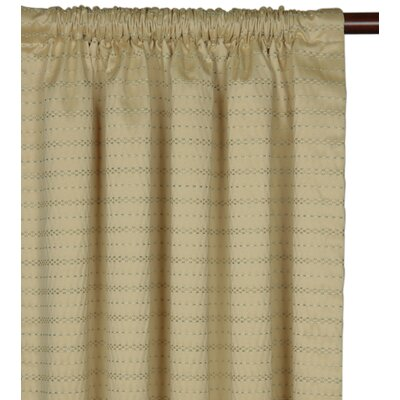Eastern Accents Southport Cotton Rod Pocket  Curtain Single Panel