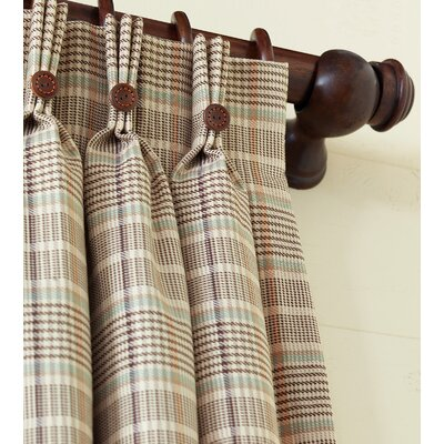 Eastern Accents Kai Cotton Pleated Curtain Single Panel