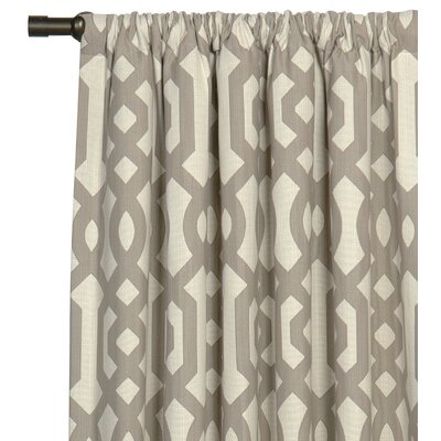 Eastern Accents Rayland Cotton Rod Pocket Curtain Single Panel