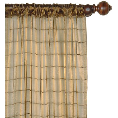 Eastern Accents Vaughan Veneta Cotton Rod Pocket Embroidered Curtain Single Panel