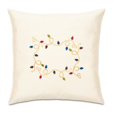 Eastern Accents Candy Cane Loopy Lights Decorative Pillow