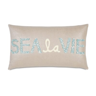 Coastal Tidings Sea La Vie Decorative Pillow