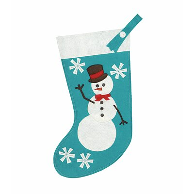 Eastern Accents North Pole Frosty Friend Stocking