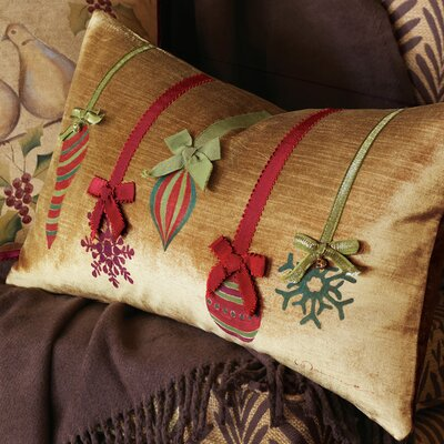 Eastern Accents Deck The Halls Festive Ornaments Decorative Pillow