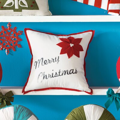 Eastern Accents North Pole Christmas Cheer Decorative Pillow