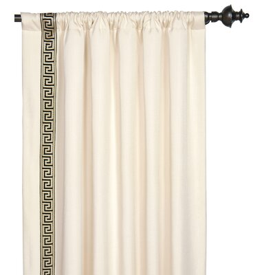 Eastern Accents Abernathy Rod Pocket Curtain Single Panel