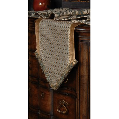 Eastern Accents Chapman Danville Sea Insert Table Runner