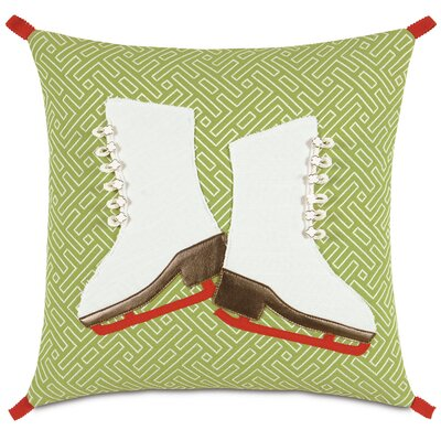 Eastern Accents Seasonally Chic Skate Spade Pillow