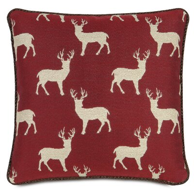 Nordic Holiday Rudolph Pillow