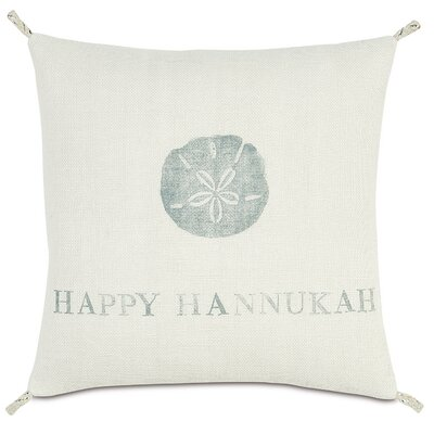 Eastern Accents Coastal Tidings Happy Hannukah Pillow