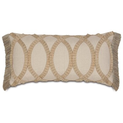 Eastern Accents Rayland Polyester Vivo Decorative Pillow with Pleated Ribbon