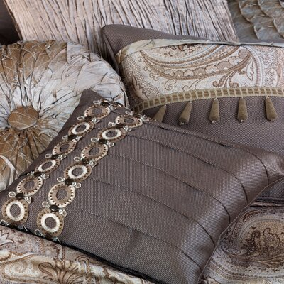 Eastern Accents Galbraith Marion Slate Pillow with Pleats