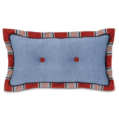 Eastern Accents Carter Polyester Dune Denim Tufted Decorative Pillow