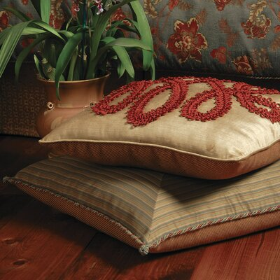 Eastern Accents Minori Lucerne Polyester Decorative Pillow with Border