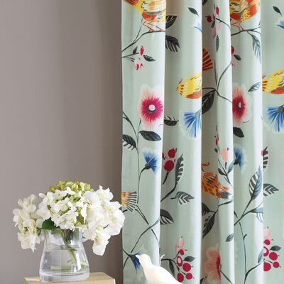 Eastern Accents Gwyneth Pinch Pleat Curtain Single Panel