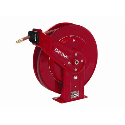 "Reelcraft 50-Foot (1/2"") 300 PSI Compact Air / Water Reel with Hose"