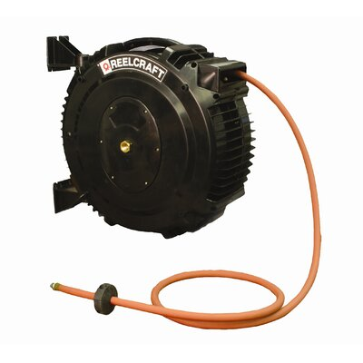 "Reelcraft 0.5"" x 50', 138 psi, Chemical Delivery Reel with Hose"