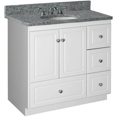 Woodenworks Simplicity 36quot; Bathroom Vanity Base amp; Reviews  Wayfair