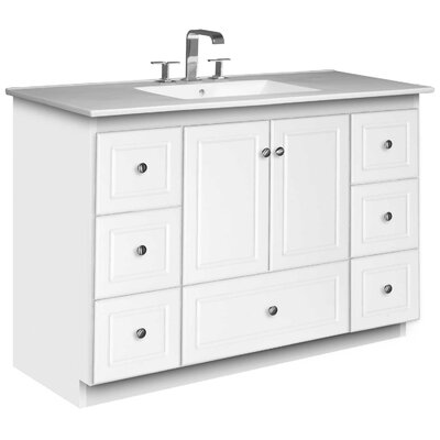 Strasser Woodenworks Simplicity 49&quot; Bathroom Vanity