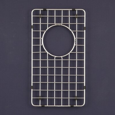 "Houzer WireCraft 9"" x 16"" Bottom Grid for Epicure Farmhouse 70/30 Sink"