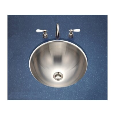 Houzer Club Conical Undermount Bathroom Sink in Satin