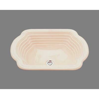 Bates & Bates Ceramics Diana Drop In Bathroom Sink