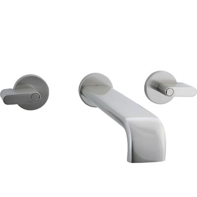 Cifial Techno Wall Mounted Bathroom Sink Faucet with Double Lever Handles