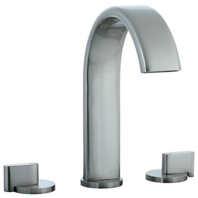 Cifial Techno M3 Double Handle Deck Mount Roman Tub Faucet with Optional Rough Valve